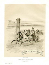 Chariot Racing At The Olympic Games in 884ad