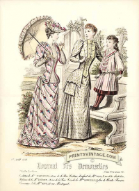 Elegant ladies and girl